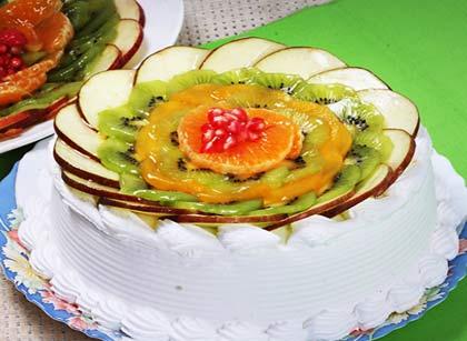 Mixed Fruit Cake Slice Of Italy