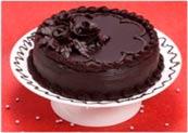 Dark Coco Truffle Cake