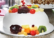 Mix Fruit Gateau Cake